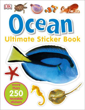 Ultimate Sticker Book: Ocean