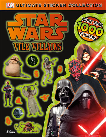 Ultimate Sticker Collection: Star Wars Vile Villains
