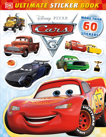 Ultimate sticker book disney pixar cars 3 by lauren nesworthy