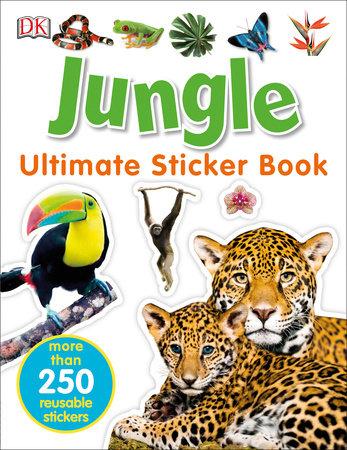 Ultimate Sticker Book: Jungle