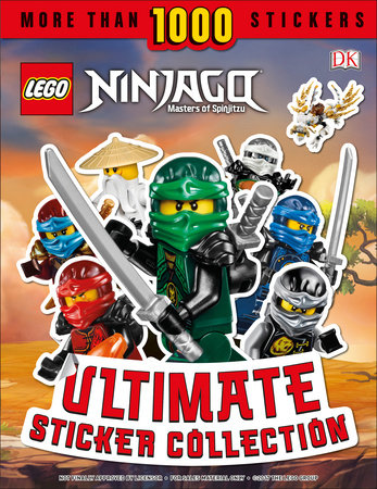 Ultimate Sticker Collection: LEGO NINJAGO by Dorling Kindersley, DK ...