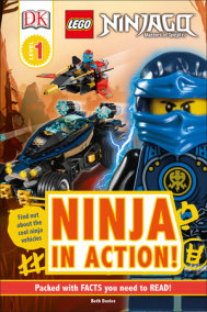 DK Readers L1: LEGO NINJAGO: Ninja in Action