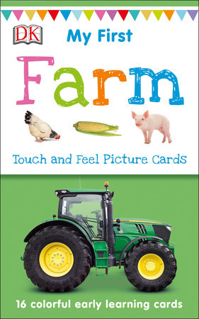 My First Touch and Feel Picture Cards Farm