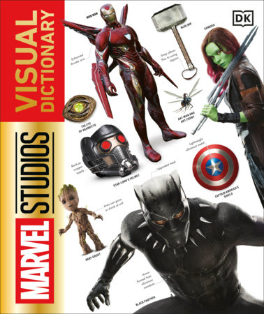 The cover of the book Marvel Studios Visual Dictionary