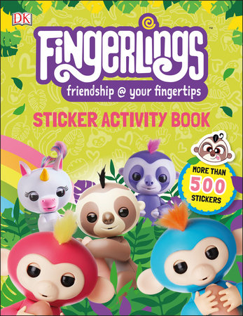 Fingerlings Sticker Activity Book