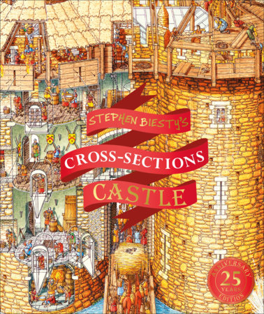 Stephen Biesty's Cross-Sections Castle by Richard Platt