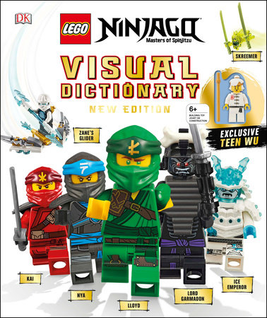 Lego Ninjago Visual Dictionary New Edition By Arie Kaplan Hannah