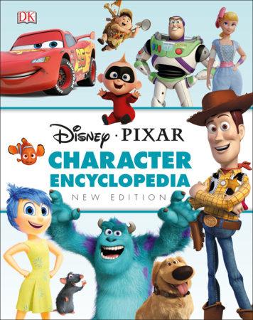 Disney Pixar Character Encyclopedia New Edition by DK
