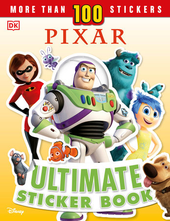 Disney Pixar Ultimate Sticker Book, New Edition by DK