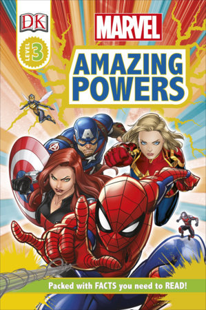 Marvel Amazing Powers by Catherine Saunders and DK