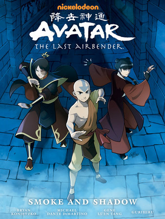 Avatar: The Last Airbender--Smoke and Shadow Library Edition by Gene Luen Yang, Michael Dante DiMartino and Bryan Konietzko