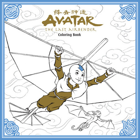 Avatar: The Last Airbender Coloring Book by