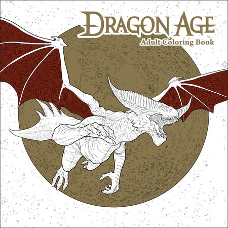 Dragon Age Adult Coloring Book by Bioware