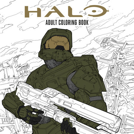 Halo Coloring Book by Microsoft