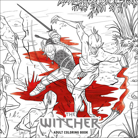 The Witcher Adult Coloring Book by CD Projekt Red ...