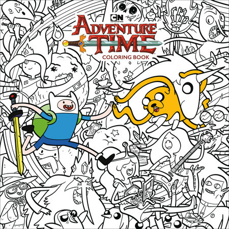 Adventure Time Adult Coloring Book Volume 1 by Cartoon Network:  9781506708003 | PenguinRandomHouse.com: Books