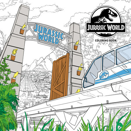 Jurassic World Adult Coloring Book by NBC Universal |  PenguinRandomHouse.com: Books