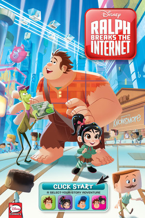 Disney Ralph Breaks the Internet: Click Start- Select-Your-Story Adventure (Graphic Novel)