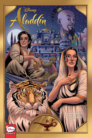 Disney Aladdin: Four Tales of Agrabah (Graphic Novel) by Corinna Bechko