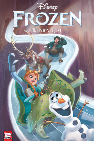 Disney Frozen: Reunion Road (Graphic Novel) by Joe Caramagna and Disney