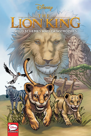 Disney The Lion King: Wild Schemes and Catastrophes (Graphic Novel)