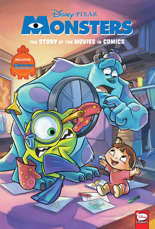 Disney Pixar Monsters Inc And Monsters University The Story Of The Movies In Comics By Alessandro Ferrari 9781506717616 Penguinrandomhouse Com Books