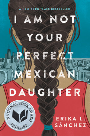 I Am Not Your Perfect Mexican Daughter Book Cover Picture