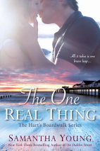 The One Real Thing Cover