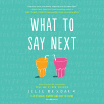 What to Say Next Cover