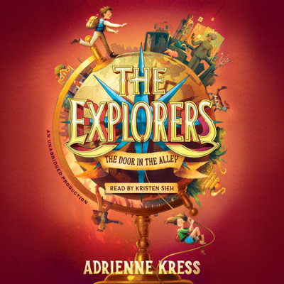 The Explorers: The Door in the Alley cover
