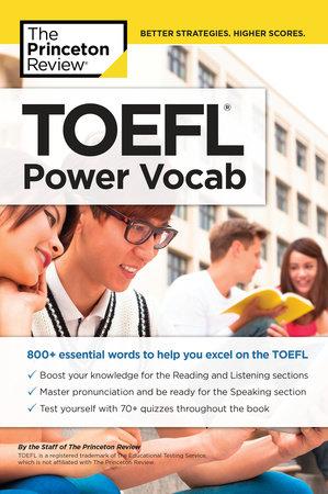 TOEFL Power Vocab by Princeton Review