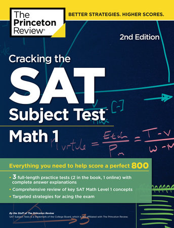 Cracking the SAT Subject Test in Math 1, 2nd Edition by Princeton Review