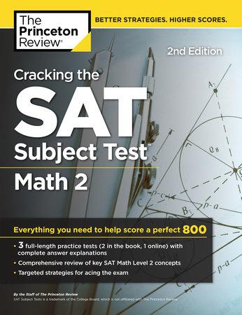 Cracking the SAT Subject Test in Math 2, 2nd Edition by Princeton Review