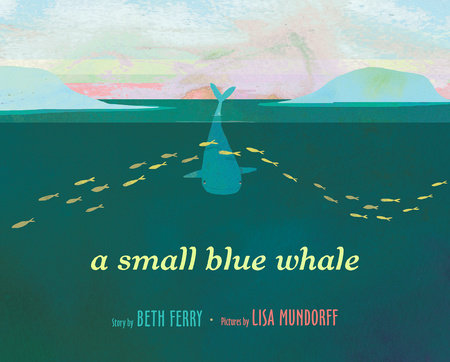 A Small Blue Whale by Beth Ferry and Lisa Mundorff