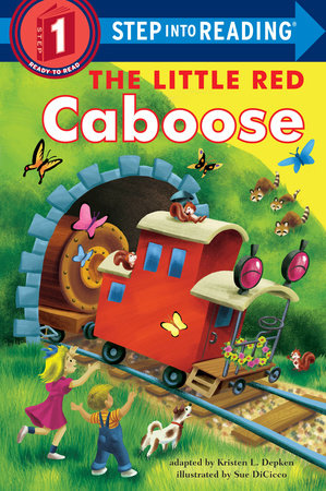 The Little Red Caboose by Kristen L. Depken