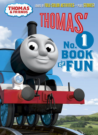 Thomas' No.1 Book of Fun (Thomas & Friends) by Golden Books