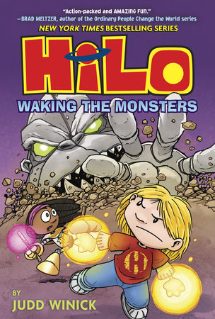 Hilo Book 4: Waking the Monsters by Judd Winick