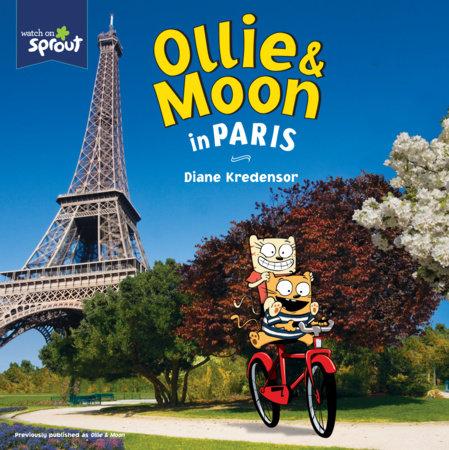 Ollie & Moon in Paris by Diane Kredensor