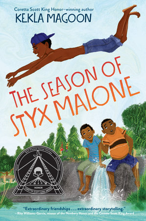 Cover art for the book entitled The Season of Styx Malone