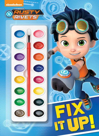 Fix It Up! (Rusty Rivets) by Golden Books