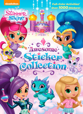 Shimmer and Shine Awesome Sticker Collection (Shimmer and Shine) by Golden  Books d1823c52ec7e4