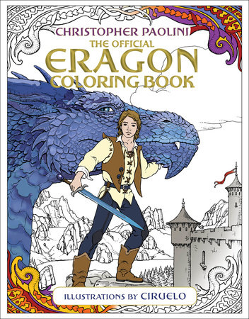 The Official Eragon Coloring Book