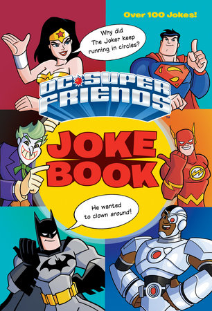DC Super Friends Joke Book (DC Super Friends) by George Carmona III