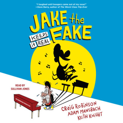 Jake the Fake Keeps it Real cover