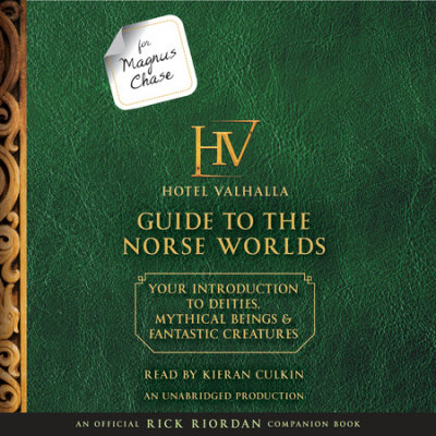 For Magnus Chase: The Hotel Valhalla Guide to the Norse Worlds cover