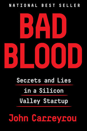 The cover of the book Bad Blood