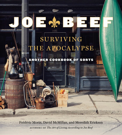 The cover of the book Joe Beef: Surviving the Apocalypse