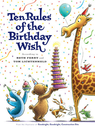 10 Rules of the Birthday Wish by Beth Ferry
