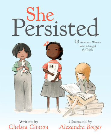 The cover of the book She Persisted