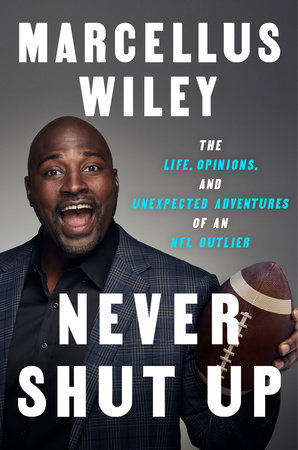 The cover of the book Never Shut Up